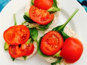 Блюда из риса и томатов