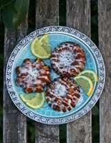 печенье с лимонами