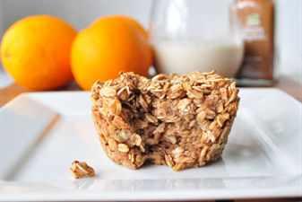 пироженое с апельсинами