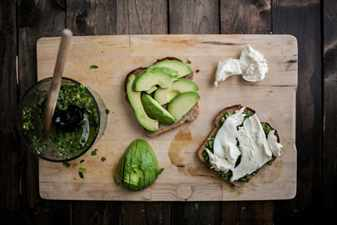 бутерброды с овощами
