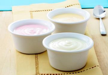 Обезжиренный йогурт