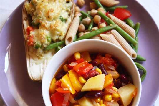 Белково-овощная диета - меню на 21 день