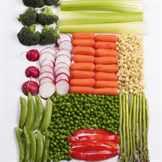 нарезанный овощи