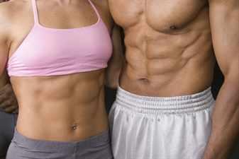 мужчина и женщина спортсмены