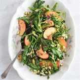 овощной салат с руколой