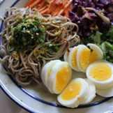 обед с отварными яйцами