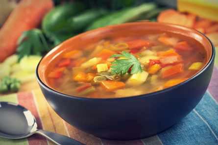 Эффективная суповая диета на неделю для похудения